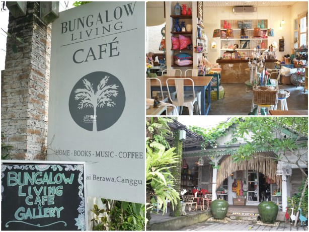 Front Side at Bungalow Living Cafe Bali by Myfunfoodiary