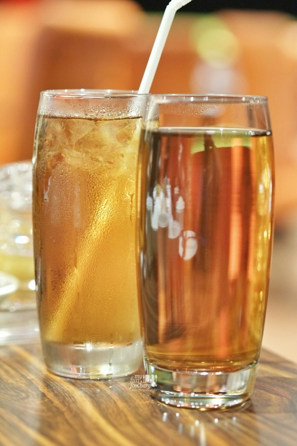 Ice Tea and Hot Tea at Three in One Cafe and Bistro by Myfunfoodiary