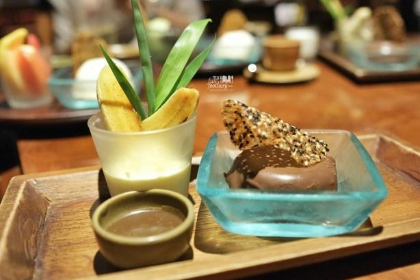 Peanut Butter Mousse at Nampu Restaurant Grand Hyatt Bali by Myfunfoodiary