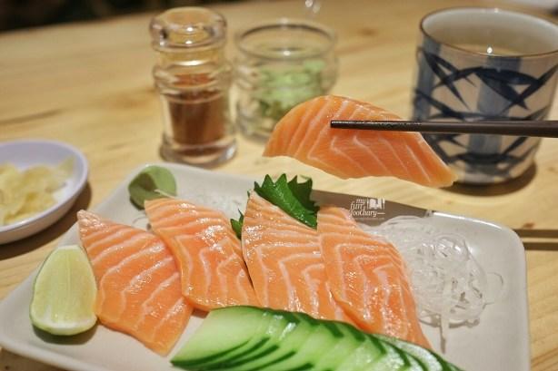 Salmon Sashimi at Sushi Matsu BSD by Myfunfoodiary