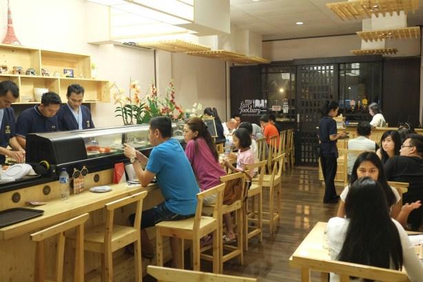 Suasana Dinner at Sushi Matsu BSD by Myfunfoodiary