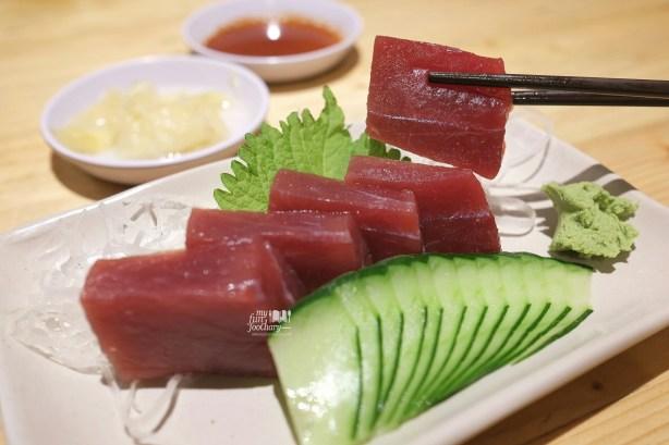 Tuna Sashimi at Sushi Matsu BSD by Myfunfoodiary