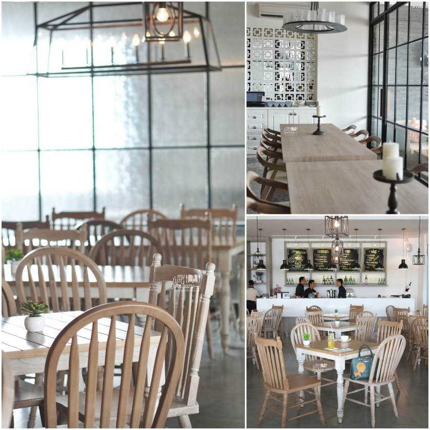 Ambiance indoor at Clique Kitchen and Bar by Myfunfoodiary collage