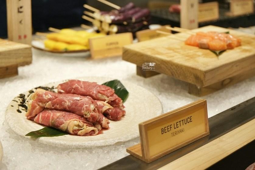 Beef Lettuce at Roba Yakitori Mall Taman Anggrek by Myfunfoodiary