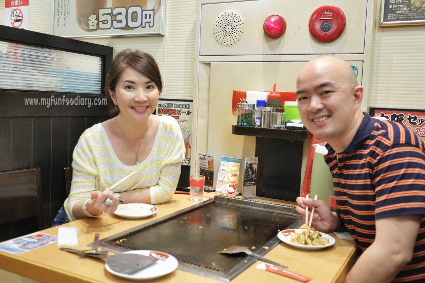 Dinner at Tsuruhashi Fugetsu Osaka Dotonbori by Myfunfoodiary