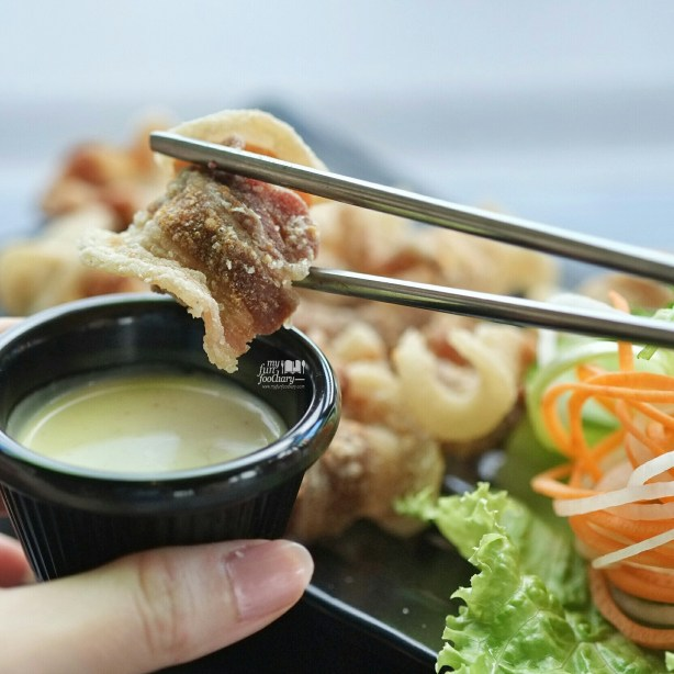 Fried Samgyeobsal at Pat Bing Soo Korean Dessert by Myfunfoodiary 03