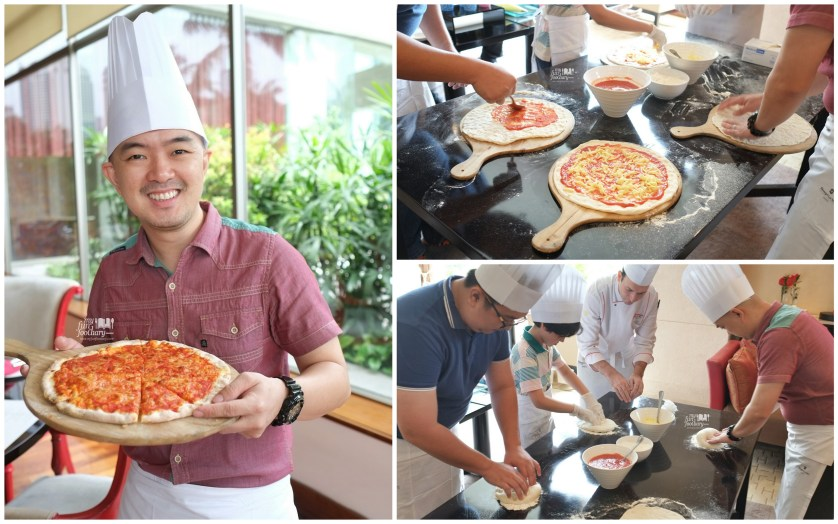 Pizza Making at Rosso Shangrila Jakarta by Myfunfoodiary