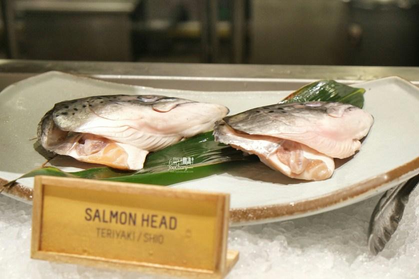 Salmon Head at Roba Yakitori Mall Taman Anggrek by Myfunfoodiary