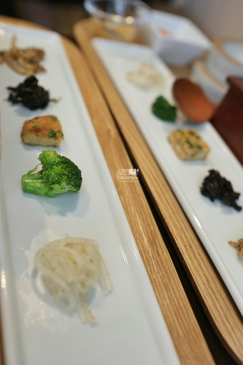 Side Dishes at OSURI Restaurant in Tokyo Japan by Myfunfoodiary