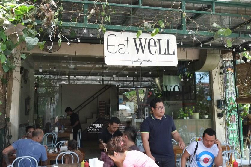 Tampak Depan Eat Well Bali by Myfunfoodiary