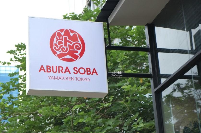 Abura Soba Signboard by Myfunfoodiary