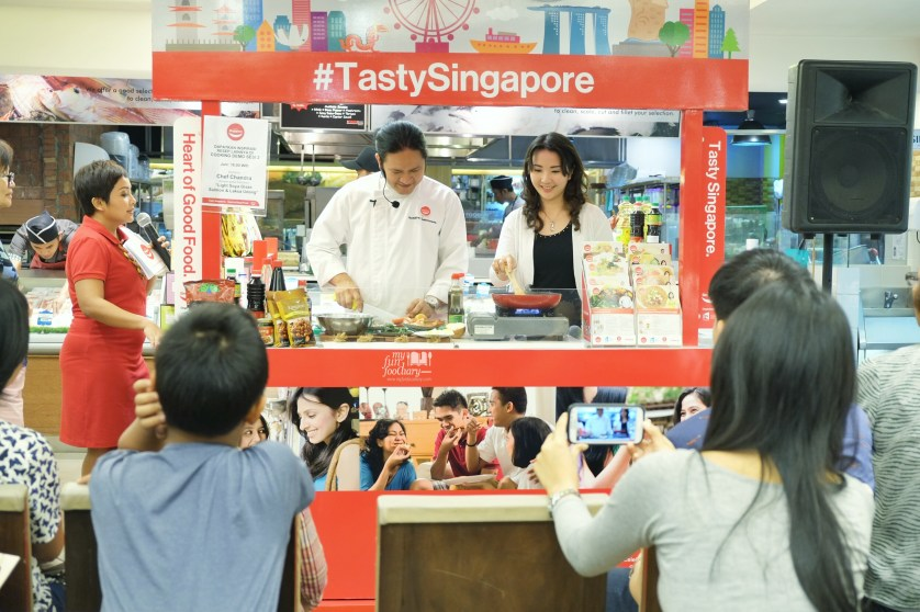 Cooking Demo session with Chef Chandra and Mullie at Tasty Singapore by Myfunfoodiary