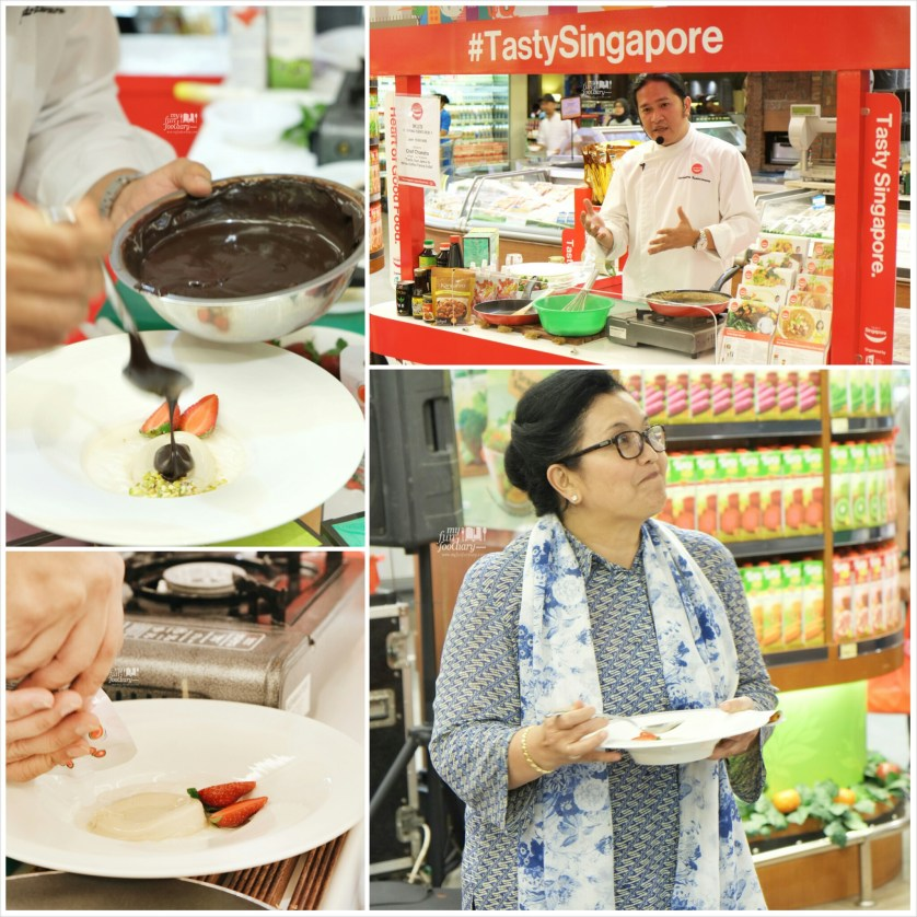 First Cooking Demo by Chef Chandra - by Myfunfoodiary