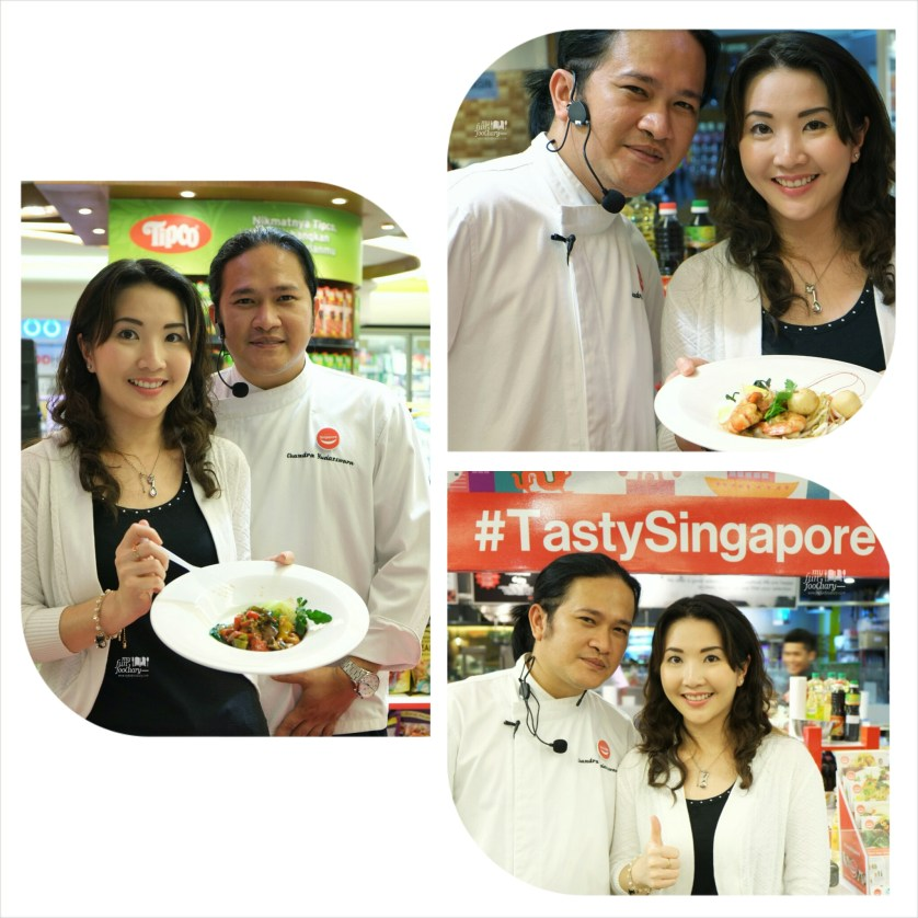 Mullie and Chef Chandra Cooking Demo Session at Tasty Singapore Event by Myfunfoodiary