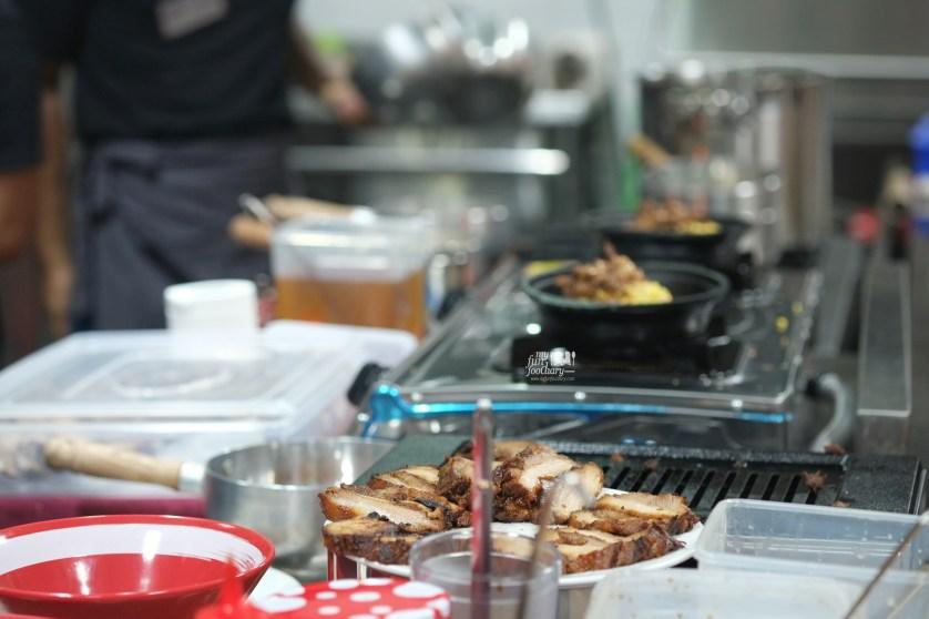 In The Kitchen at Bariuma Ramen by Myfunfoodiary