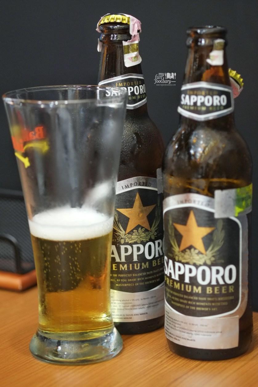 Sapporo Beer at Bariuma Ramen by Myfunfoodiary