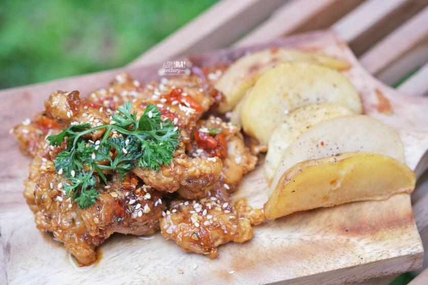 Spicy Chicken Stripn at WATT Coffee by Myfunfoodiary