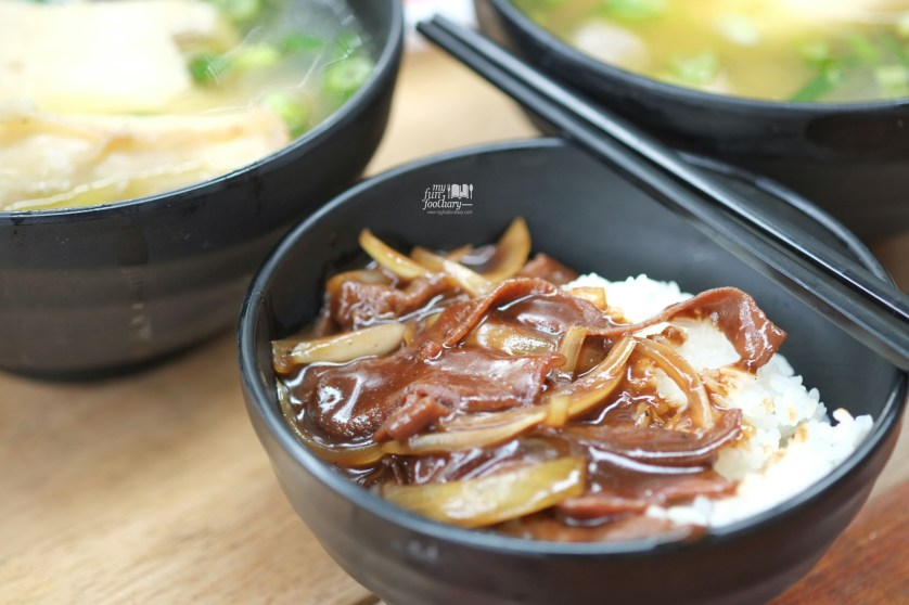 Teriyaki Gyutan Rice Bowl at OTW Gading by Myfunfoodiary
