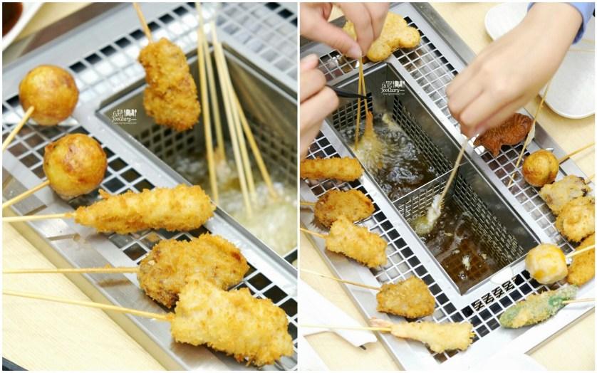 Fun Cooking Process at Kushiya Monogatari by Myfunfoodiary