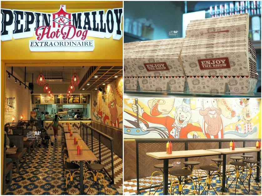 Tampak Suasana Pepin and Malloy collage by Myfunfoodiary