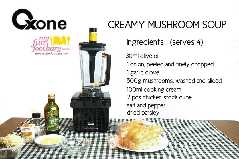 Creamy Mushroom Soup by Mullie Marlina - myfunfoodiary 04