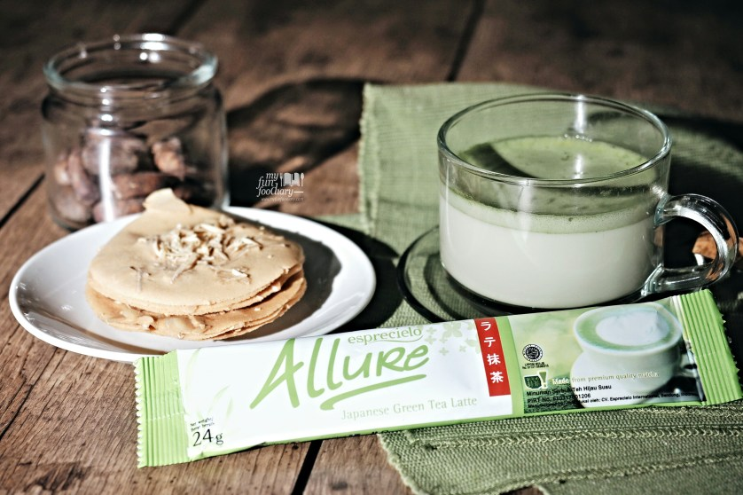 Relaxing Moment with Allure Green Tea at Home by Myfunfoodiary 01