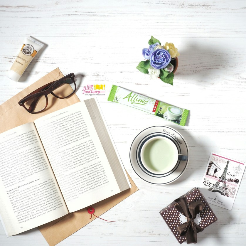 Relaxing Moment with Allure Green Tea at Home by Myfunfoodiary
