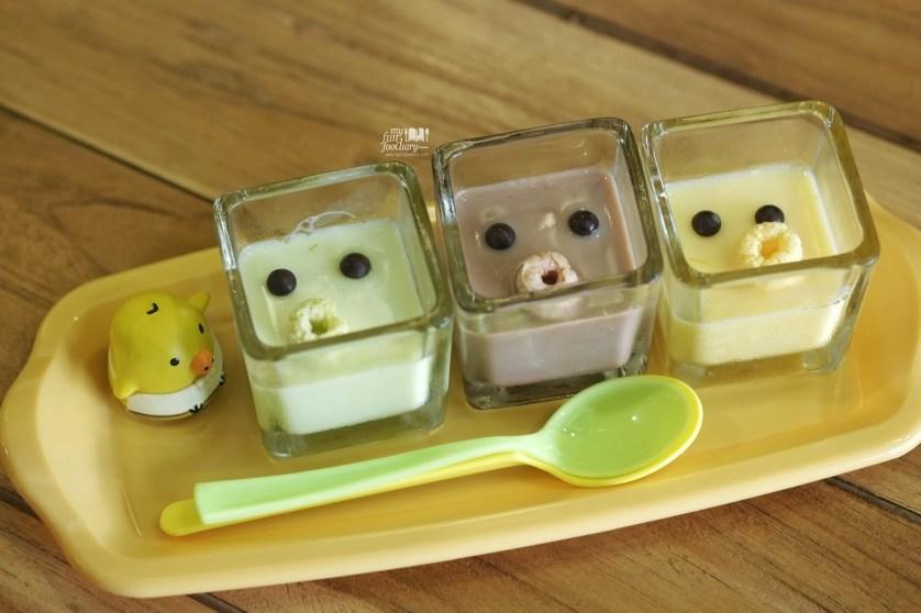 Rilakkuma Pudding at Ozumo Gading Serpong by Myfunfoodiary