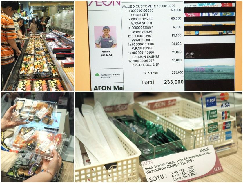Sushi Hunt inside AEON Mall by Myfunfoodiary