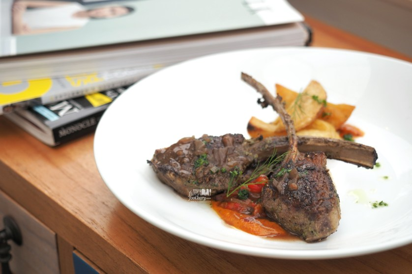 Tandoori Lamb Rack at Mockingbird Fine Dining by Myfunfoodiary