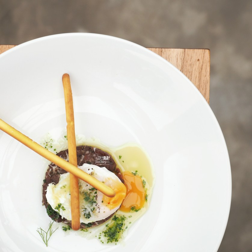 Wagyu Beef Tartar  at Mockingbird Fine Dining by Myfunfoodiary