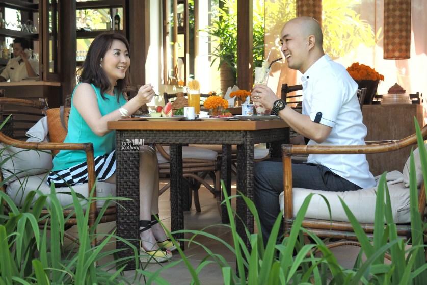 Breakfast Scene at De Daun Resto at Villa De Daun Bali by Myfunfoodiary