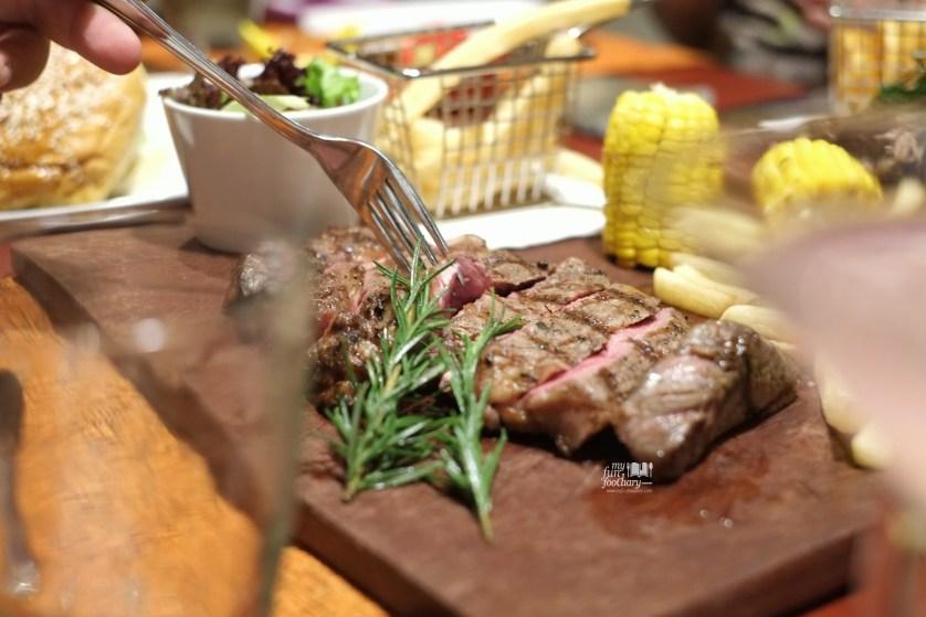 Beef Rib Eye at Desperados Grill and Bar