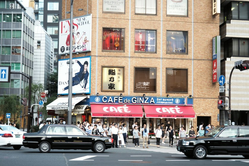 Cafe de Ginza at Ginza Tokyo by Myfunfoodiary