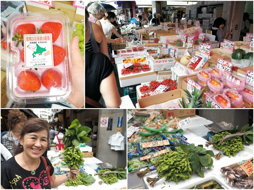 Fresh Fruit and Vegetables at Tsukiji Market by Myfunfoodiary