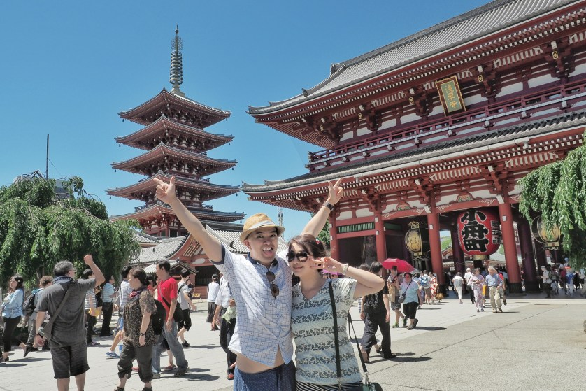 Here we are at Sensoji Temple Asakusa Temple by Myfunfoodiary