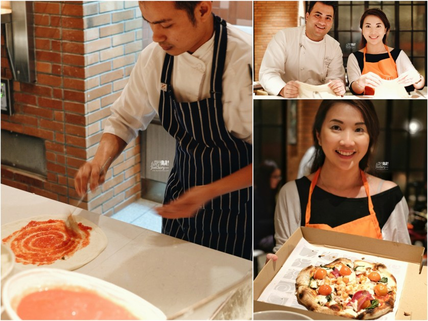 Me and Chef Andrew in Pizza Making Session together with Chef Gozali - by Myfunfoodiary