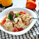 [NEW RECIPE] Roast Prawn Fettuccine with Ricotta Cheese
