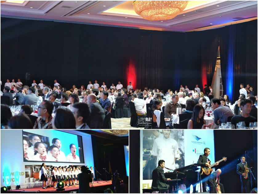 Some performances at the Gala Dinner Edward Kwon Shangri-La Jakarta by Myfunfoodiary