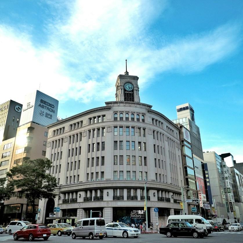 The Wako Clock at Ginza Tokyo by Myfunfoodiary