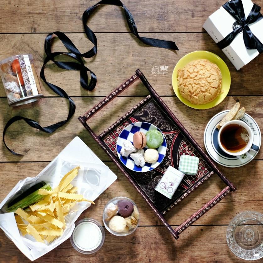 Zeppole, Fresh Pasta and Macaron from Sapori Deli by Myfunfoodiary