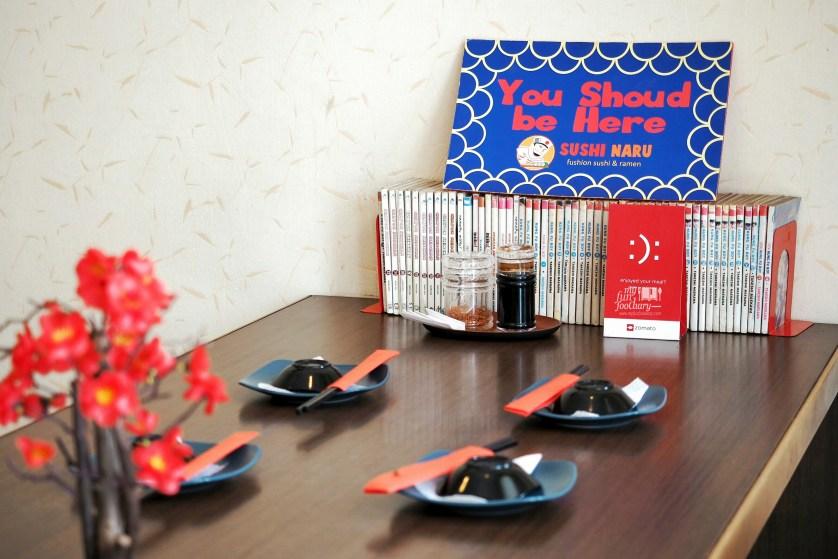 Ambiance at Sushi Naru at Sushi Naru by Myfunfoodiary