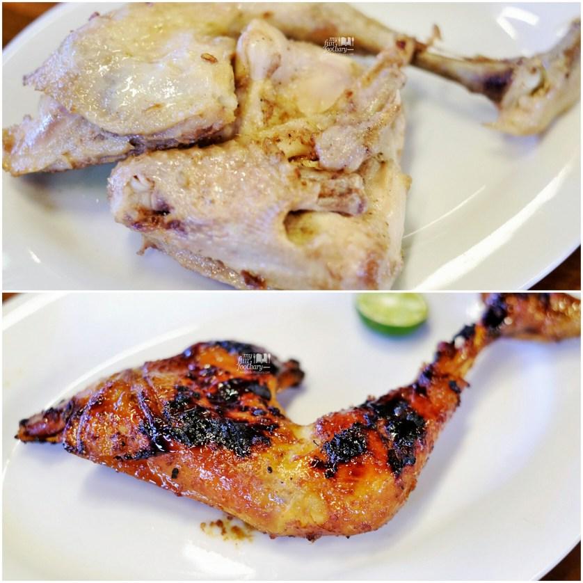 Ayam Ungkep dan Ayam Bakar at Dapur Pandan Wangi Bandung