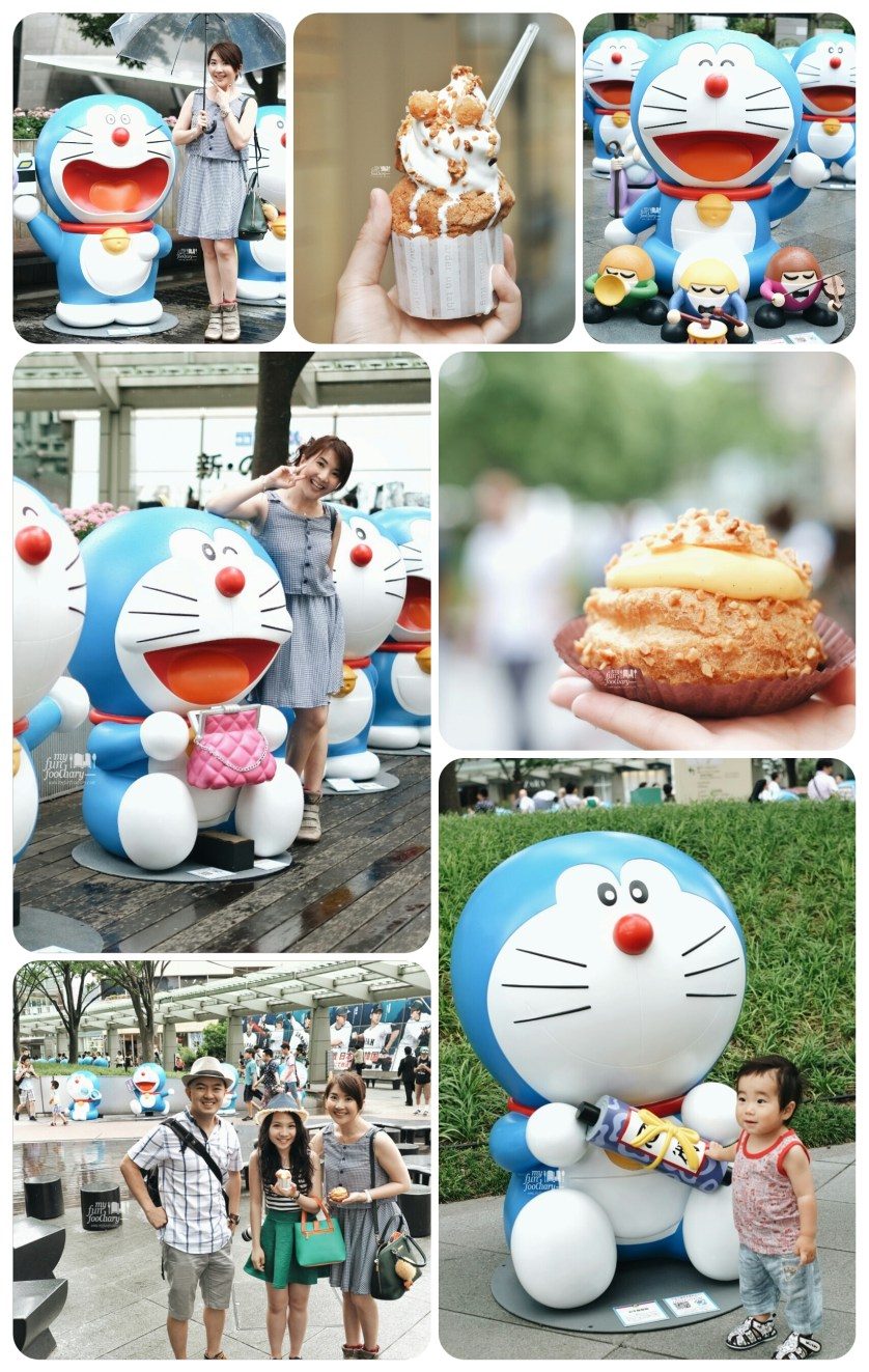 Doraemon Figure at Roppongi Hills by Myfunfoodiary