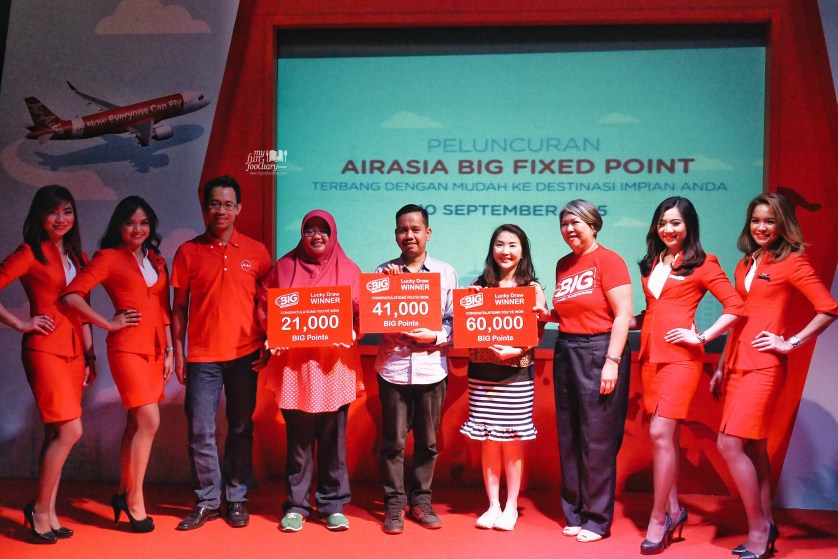 Happy Winners at AirAsia Points by Myfunfoodiary