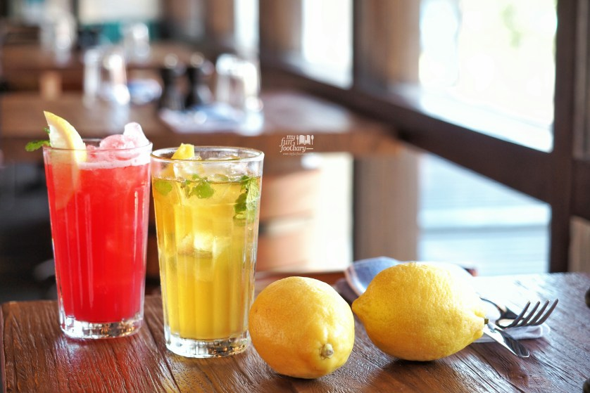 Homemade Italian Lemonade and Berry Blast at Jamie's Oliver Bali by Myfunfoodiary