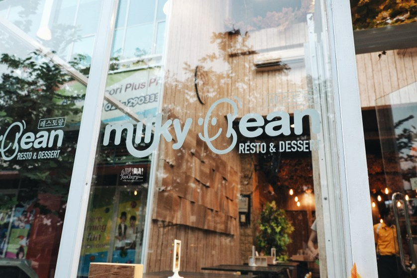 Milky Bean exterior by Myfunfoodiary