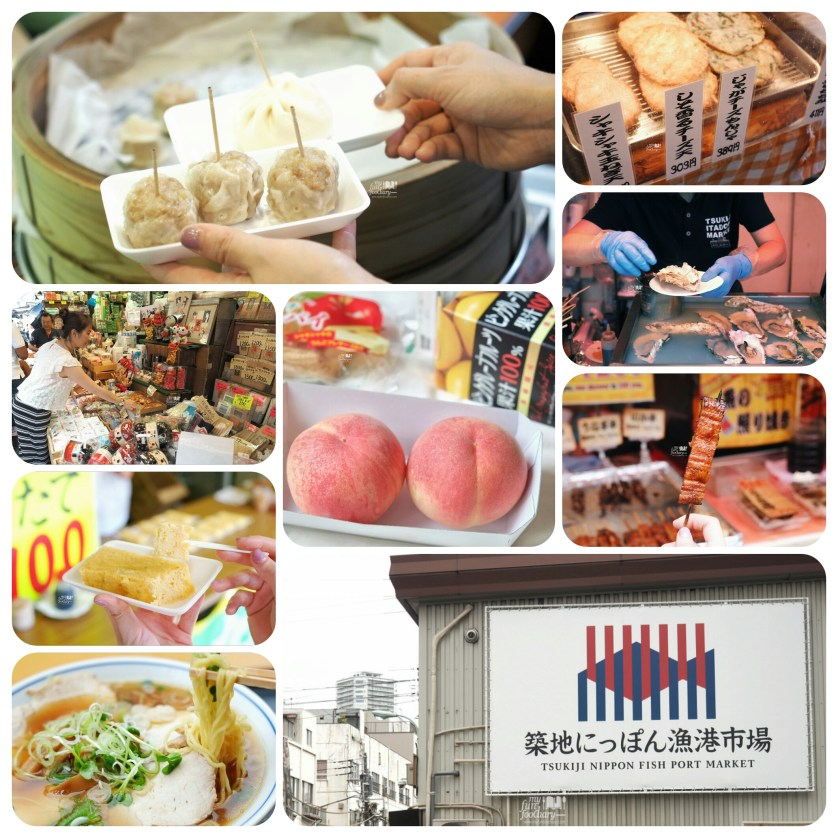 Tsukiji Fish Market Outer Market - 7 Snacks You Should Try in Tsukiji by Myfunfoodiary