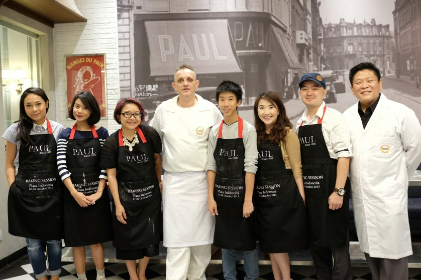 All the Baking Class participants at Paul Indonesia by Myfunfoodiary