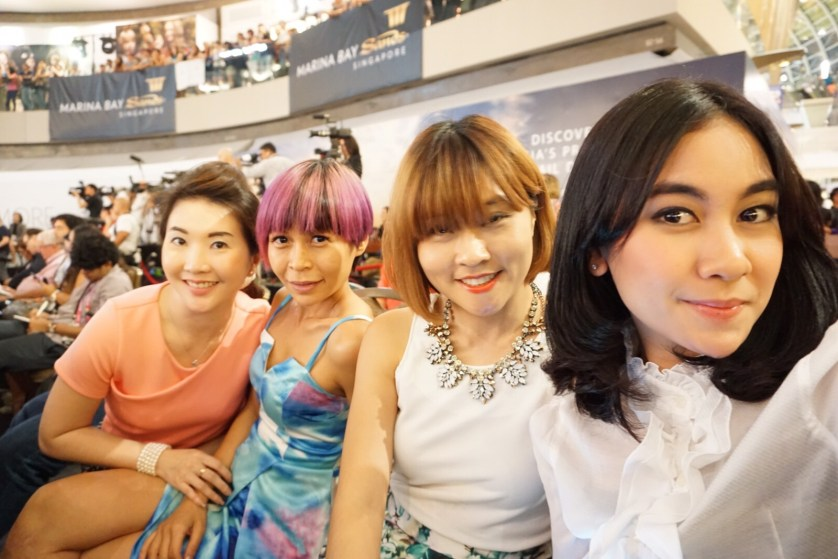 Anisa, Valyn, Becky, and Me at the Draw Ceremony - Marina Bay Sands by Myfunfoodiary